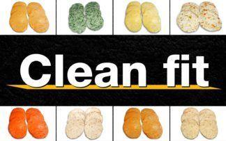Clean fit burgers
